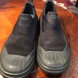 Clarks Black All Weather Waterproof Shoe Boot Sz 8